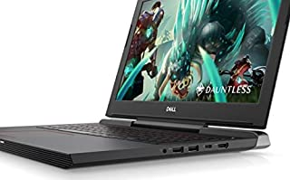 Dell G5-5587 Gaming Laptop - Intel Core i7-8750H - 15.6 inch - 16GB - 1TB - 128GB SSD - Nvidia 4GB - DOS - Black