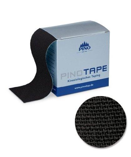 PINO PINOTAPE Baumwolle schwarz 5 cm x 5 m 45033