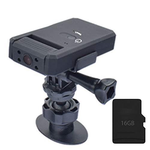 YOURPAI Md90a Cámara de Video giratoria de 180 Grados Visión Nocturna por Infrarrojos Deportes DV Estacionamiento