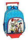 safta 612031020 Mochila pequeña Ruedas, Carro, Trolley Toy Story, Multicolor