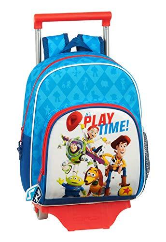 Safta 612031020 Mochila pequeña Ruedas  Carro  Trolley Toy Story  Multicolor