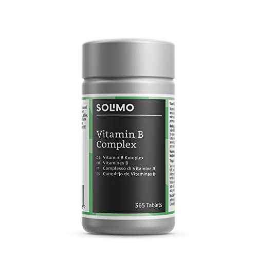 Amazon Brand - Solimo Vitamin B Complex Food Supplement, 365 Tablets