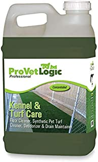 ProVetLogic Kennel and Turf Care Floor Cleaner, Deodorizer 2.5 Gallon