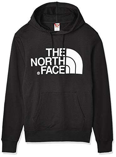 The North Face Uomo Felpa con Cappuccio Standard Pullover, Nero, S