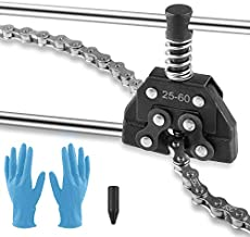 Allprettyall Roller Chain Breaker Detacher Cutter Tool #25#35#41#40#50#60 415H,428H, 520,530 for Bicycle Motorcycle Go Kart ATV Chains Replacement
