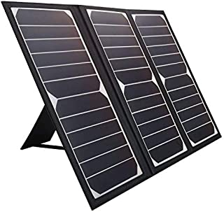 KINGSOLAR Solar Charger 21W Portable Solar Panel Charger with 2 USB Ports, Waterproof Camping Foldable Portable Solar Charger for Cell Phone Tablet GPS iPhone iPad Camera Electronic Device and More