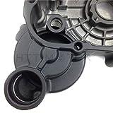 HTT- For Suzuki GSXR 600/750 2006-2013 Engine Stator cover BLACK Left w/Gasket