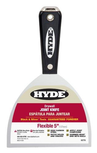 "Hyde 02770 Hammerkopf Flexgelenk Messer, 5\"" W"
