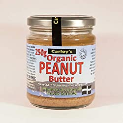 The famous, classic and really simple Whole Organic Peanut Butter now available as a crunchy variety Made purely from 100% freshly roasted organic Egyptian pale-skin peanuts. Delicious and nutritious with a high level of protein.