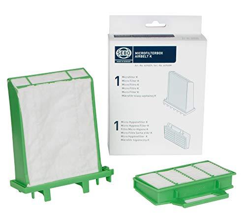 Sebo v6696ER Boîte de micro-filtre d'origine et authentique