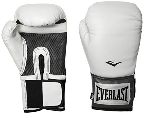 Everlast Erwachsene Boxartikel 20  Pro Style Training Gloves, White, 10, 057211 01010