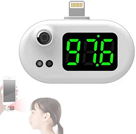 No Touch Forehead Thermometer Pocket USB Charging Smart Mobile Phone Mini Infrared Thermometer product image