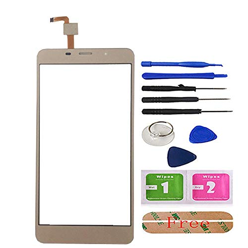5.7 inch Mobile Phone Touch Screen Touchscreen for Leagoo M8 / M8 Pro Touch Screen Glass Digitizer Panel Lens Sensor Glass Adhesive