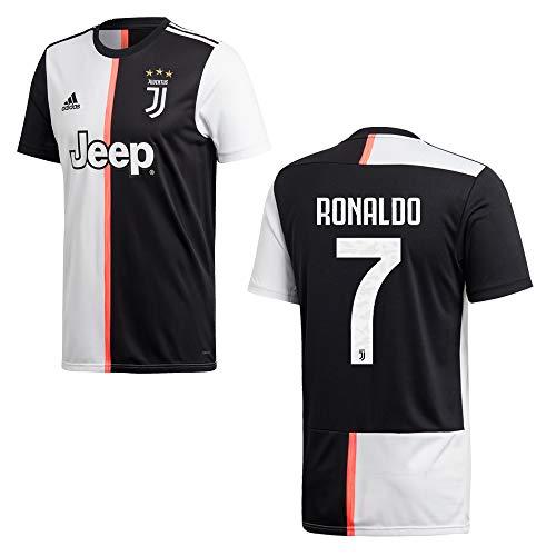 adidas Juventus Turin Trikot Home Kinder 2020 - Ronaldo 7, Größe:152
