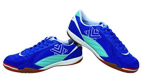 Luanvi FS PRO - Zapatillas de Fútbol Sala, Unisex Adultos, Azul, 44