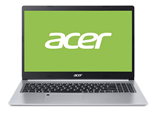 Acer Aspire 5 A515-54G-73N7 Notebook Silver 39.6 cm (15.6') 1920 x 1080 pixels 10th gen Intel Core i7 16 GB DDR4-SDRAM 1000 GB SSD NVIDIA GeForce MX350 Wi-Fi 6 (802.11ax) Endless OS