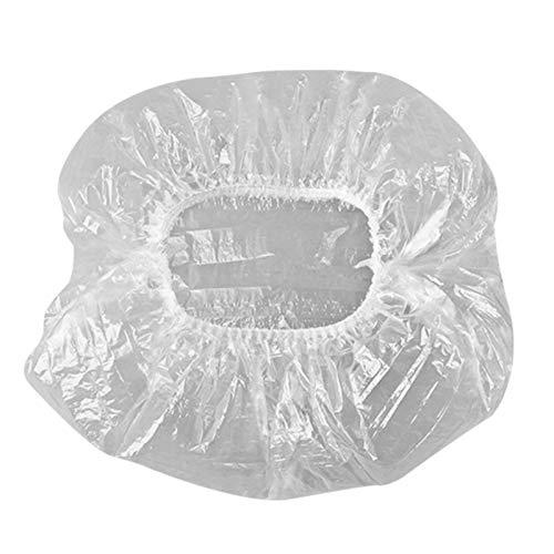 lefeindgdi 100/200/300 cubiertas reutilizables para cuencos, cubierta para conservar, cubierta para cuenco de calidad alimentaria, ampliable para adaptarse a varias formas de contenedores