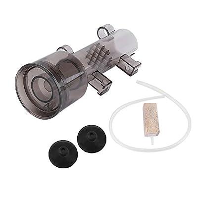 GLOGLOW 1 Pc Aquarium Protéine Skimmer, Fish Tank Surface Skimmer Filtre à Eau Accessoire pour Petit Aquarium de Corail