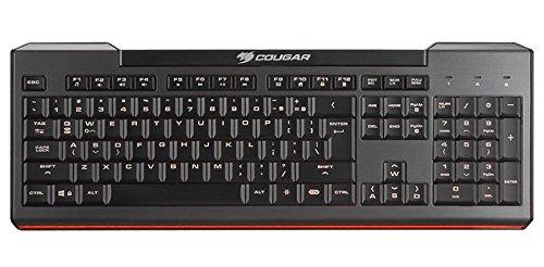 Cougar 200K Gaming-Tastatur, HU-Layout - schwarz