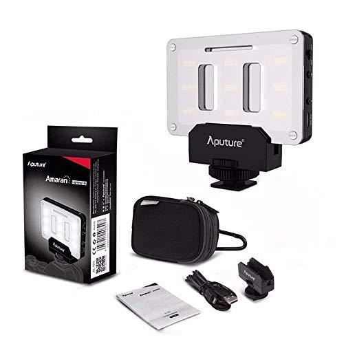 Aputure AL-M9 Mini LED Light Pocket sized LED Fill Light 5500K with 9pcs SMD light Beads for DSLRs