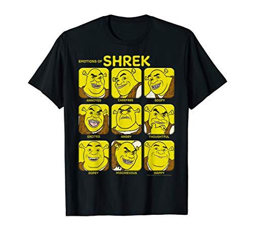 Shrek Emotions Of Shrek Box Up T-Shirt