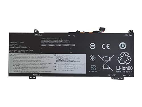 7XINbox L17C4PB0 L17M4PB0 7.68V 45Wh 5928mAh Batería Reemplazo para Lenovo Flex 6-14ARR Flex 6-14IKB IdeaPad 530s Series 530s-14IKB 530s-15IKB 530s-14ARR Yoga 530-14ARR 530-14IKB L17M4PB2 L17C4PB2