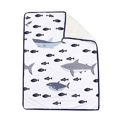 TEALP kinderbed katoenen hoeslaken hoeslaken Fit standaard kinderbed matras 120 x 60 cm - 70 x 140 cm 70x100cm Babydeken vis