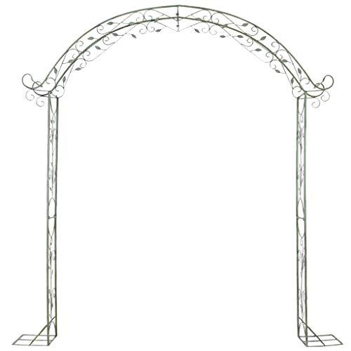RuBao Large Metal Lattice Garden Arch,Arch Wedding Rose Archway Ornament,Arbour Pergola For Climbing Plants Trellis Support,Garden Patio Outdoor
