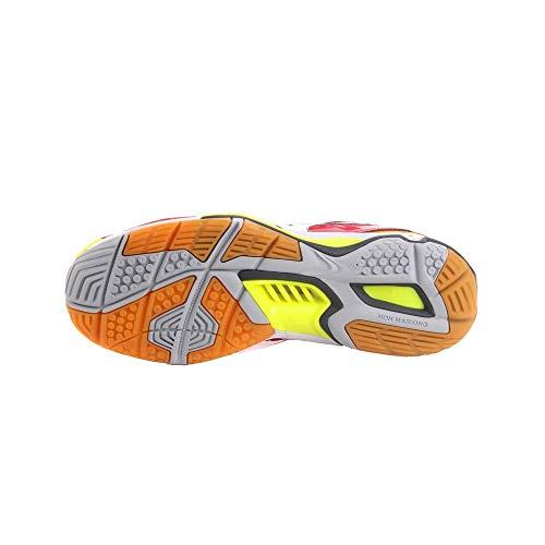 Mizuno Herren Handballschuhe Wave Stealth 4″ Rot (500) 45EU - 3