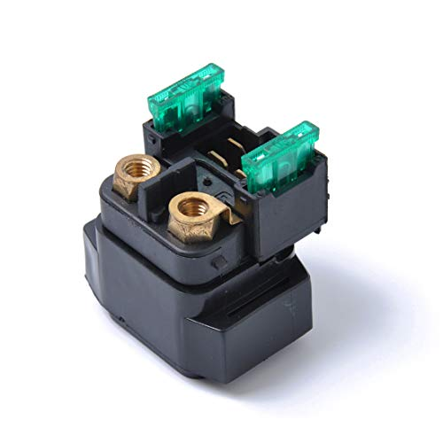 Solenoide de relevo de inicio Se adapta a Yamaha YFM660 YFM350 FZS600 2002-2007 y 30A fusible Alta calidad