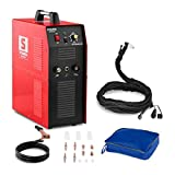 Stamos Plasma Cutter S-PLASMA 40 (integrated compressed air compressor, cutting current 20 - 40 A, cutting thickness 10 mm, overload protection, MOSFET-V technology)