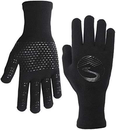 ShowersPass Waterproof Breathable Unisex Crosspoint Knit Gloves Black XL product image