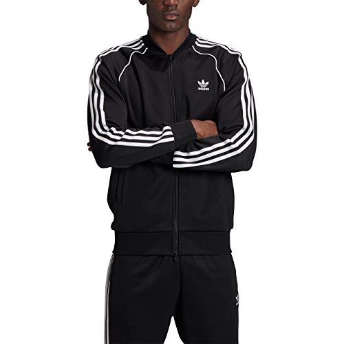 adidas SST TT P Blue, Felpa Uomo, Black/White, M