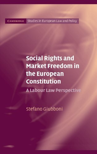 Social Rights and Market Freedom in the European Constitution: A Labour Law Perspective (Cambridge Studies in European Law and Policy) (English Edition)