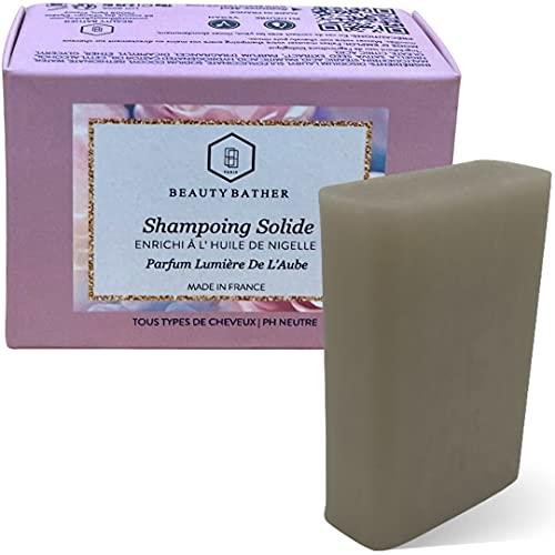 Shampoing Solide Sans Sulfate Ultra Doux | à l'huile de Nigelle Biologique | pour cheveux...