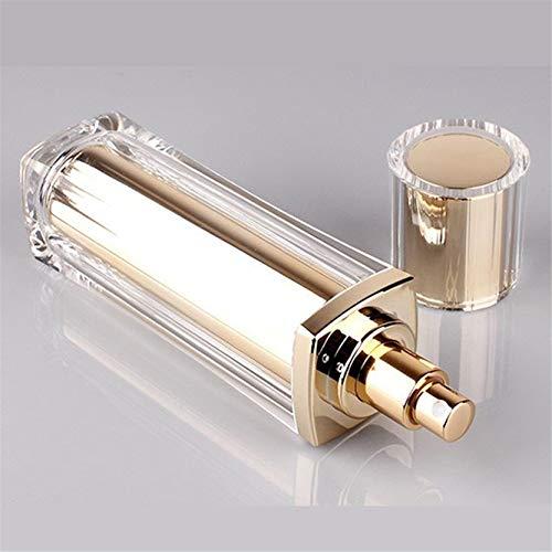 EMFGJ Botellas de empaquetado cosmético Botellas rellenables, envases de viaje, pulverizadores vacíos, perfectas para viajes en casa, 30 ml