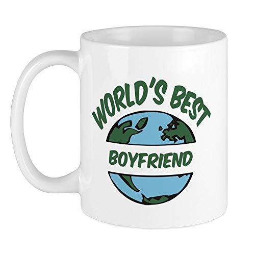CafePress - World's Best Boyfriend Mug - Unique Coffee Mug, Coffee Cup, Tea...