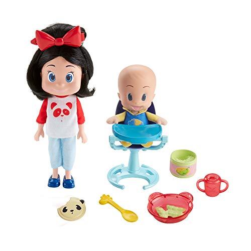 Cleo & Cuquin ¡Vamos a comer! Muñecos de la Familia Telerín (Mattel FLW49)