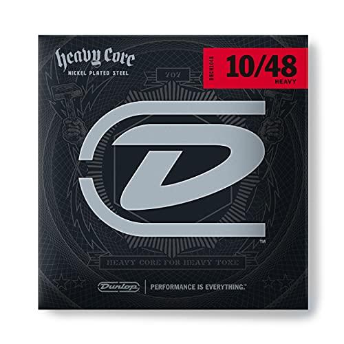 Dunlop DHCN1048 Heavy Core Guitar Strings, Heavy, .010–.048, 6 Strings/Set