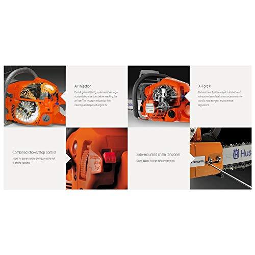 Husqvarna 440 18 Inch 40.9cc 2.4HP 2 Cycle Gas Chainsaw (Renewed)