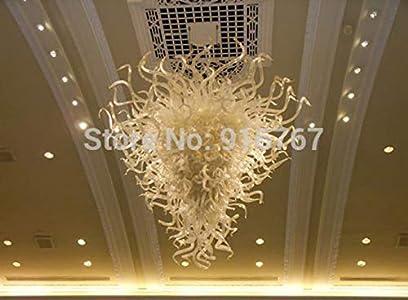 SHIJING Envío Gratuito UL/CE del Bulbo LED Mejor Elegante de Cristal de Murano Art Lámpara Antigua araña de Cristal