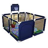 GWFVA Parque de Juegos para bebés Centro de Juegos de Seguridad Patio Área de Actividad Cerca Cerca del hogar Valla Protectora Arrastre Niño pequeño Barandilla Juguetes preescolares