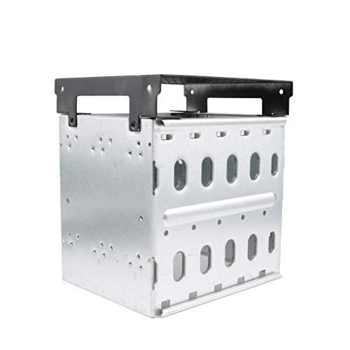 Guangcailun 5.25' a 5X 3.5 SATA Adaptador de Jaula SAS Disco Duro HDD Caddy Bandeja de Estante del Soporte de CD-ROM Ranura Interna o Externa PC DIY