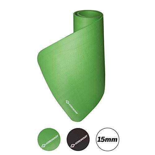 Schildkröt Fitness Fitnessmatte, 15 mm, Grün, mit Tragegurt, 960051