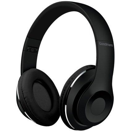 Goodmans Kopfhörer, faltbar, kompakt, Design Schwarz