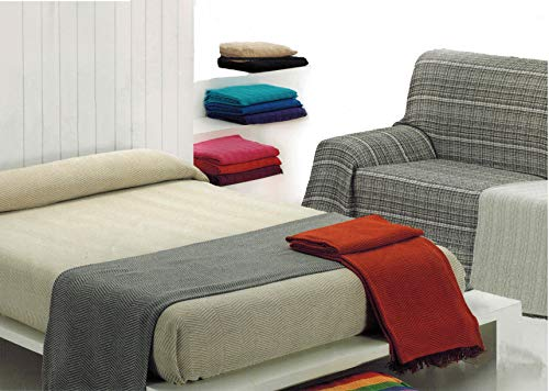 MercuryTextil Colcha Multiusos/Cubre sofás/Sobrecamas y colchas/Manta para Sofa 3 Plazas...