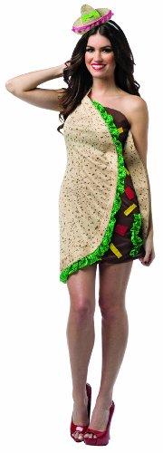 Rasta Imposta 7627 Mehrfarbiges Feinschmecker Taco-Kleid für Damen (Einheitsgröße)