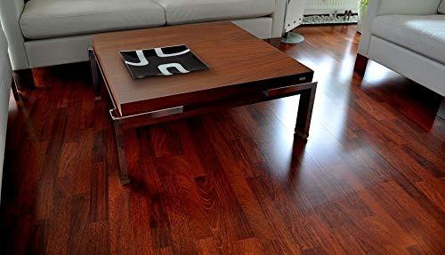 Design Couchtisch Tisch Carl Svensson K-222 Nussbaum/Walnuss Chrom