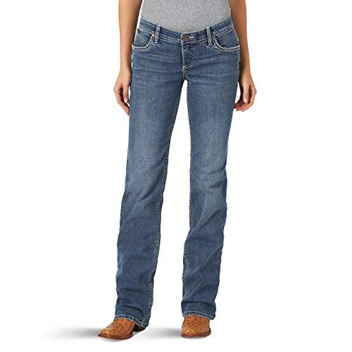 Wrangler Shiloh Low Rise Boot Cut Ultimate Riding Jean, Elisabeth, 11W x 38L Femme