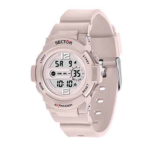 SECTOR NO LIMITS Reloj Unisex Adultos de Digital con Correa en Plástico R3251525502